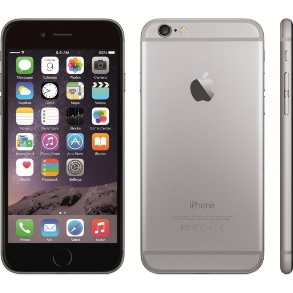 Apple iPhone 6 32GB Space Gray EU