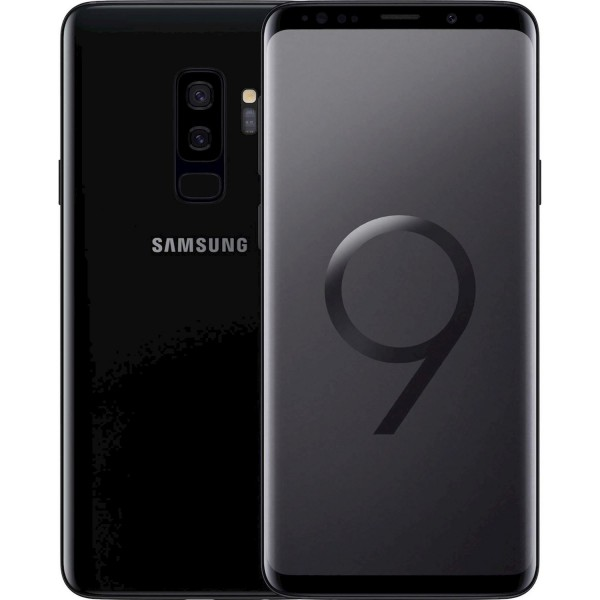 Samsung Galaxy S9 Plus Single Sim 64GB LTE Black EU