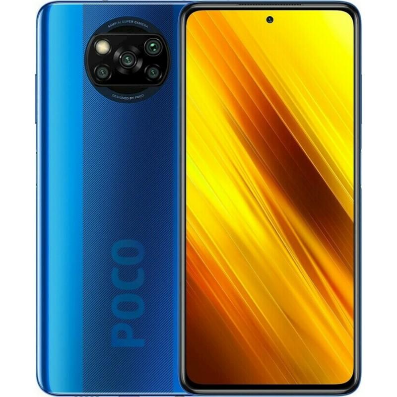 Xiaomi Pocophone X3 6GB/128GB NFC Dual Sim Blue EU
