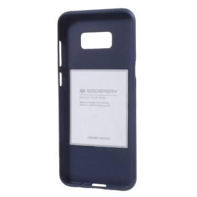Goospery Soft Feeling για Samsung SM-G955F Galaxy S8+ Μπλέ by Mercury