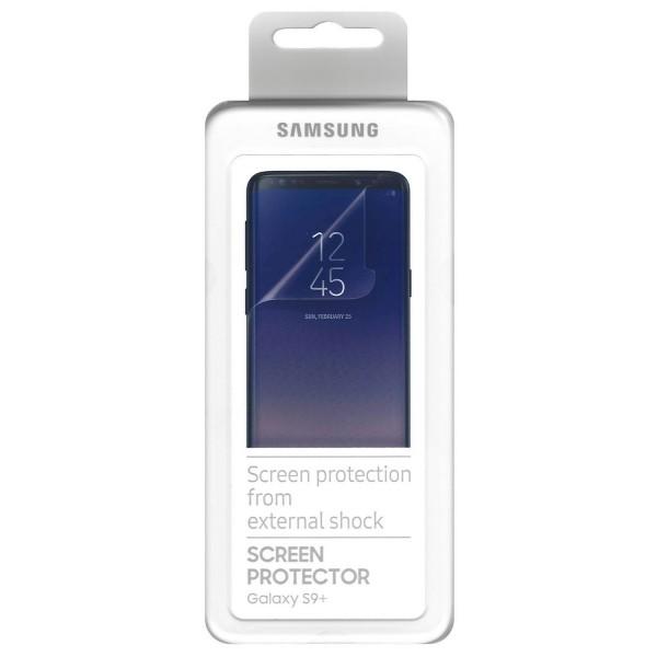 Screen Protector Samsung ET-FG965CTEGWW για SM-G965F Galaxy S9+ Curved Full Face (2 Τεμάχια)