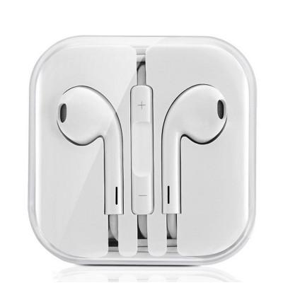 Hands Free Hoco M1 Earphones Stereo 3.5 mm Λευκά με Μικρόφωνο