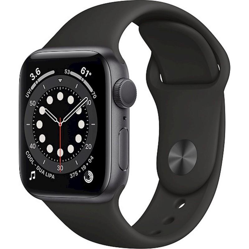 Apple Watch Series 6 GPS 40mm Blue Aluminum Case with Sport Band Black EU