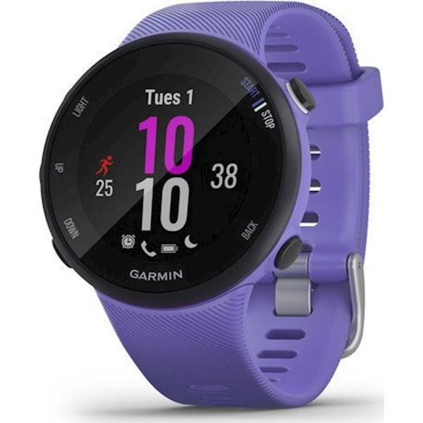 GARMIN GPS RUNNING WATCH FORERUNNER 45S Iris Black