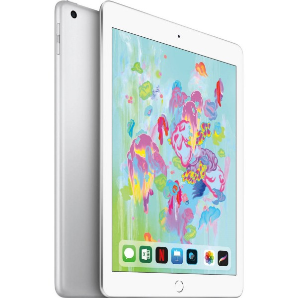 Apple iPad 9.7 (2018) 128GB Wi-Fi and Cellular Silver EU