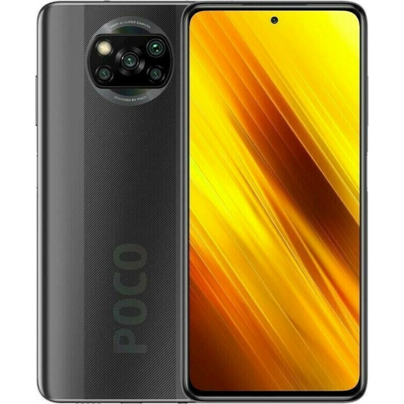 Xiaomi Pocophone X3 6GB/64GB NFC Dual Sim Black EU