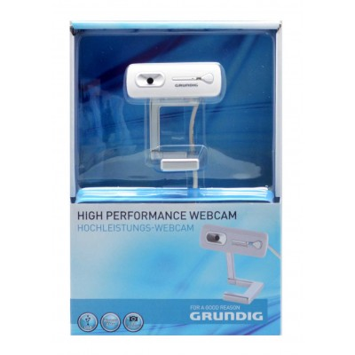 Grundig USB Webcam 5 Megapixel με Βάση Λευκή