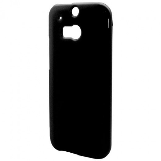 Goospery Θήκη TPU HTC One (M8) Jelly Series Μαύρο