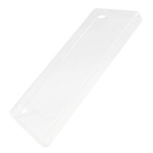 Θήκη TPU inos Huawei Ascend G6 Ultra Slim 0.3mm Διάφανο