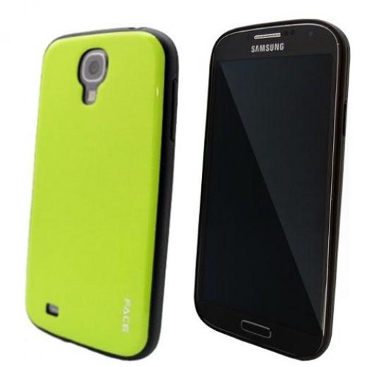 Θήκη TPU Face Samsung i9505 Galaxy S4 Colorful Series Πράσινο