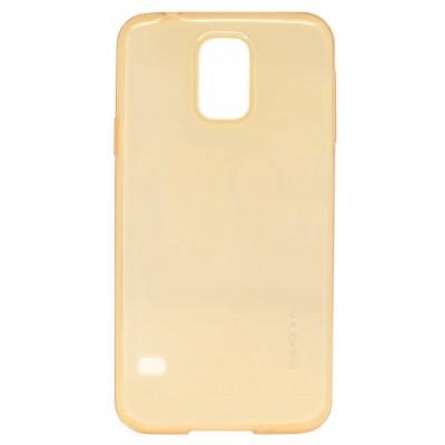 Baseus Air Case TPU για Samsung Galaxy S5 Χρυσαφί