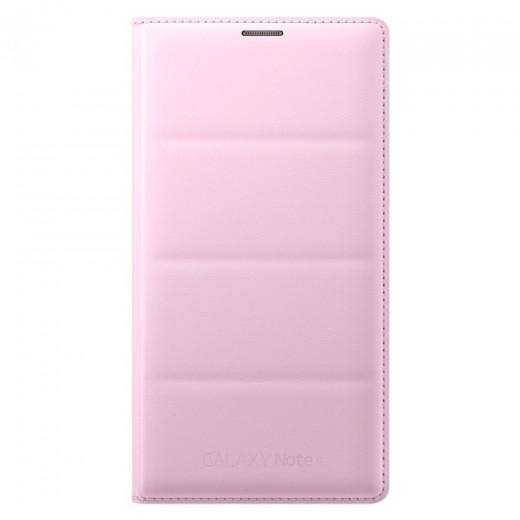Samsung EF-WN910BPEG N910 Θήκη Flip Wallet Galaxy Note 4 Ρόζ