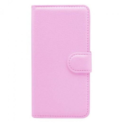 Θήκη Flip Book Samsung A300F Galaxy A3 Foldable  Ροζ