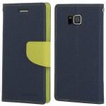 Goospery Θήκη Flip Fancy Diary Samsung Galaxy Alpha Μπλε-Πράσινο
