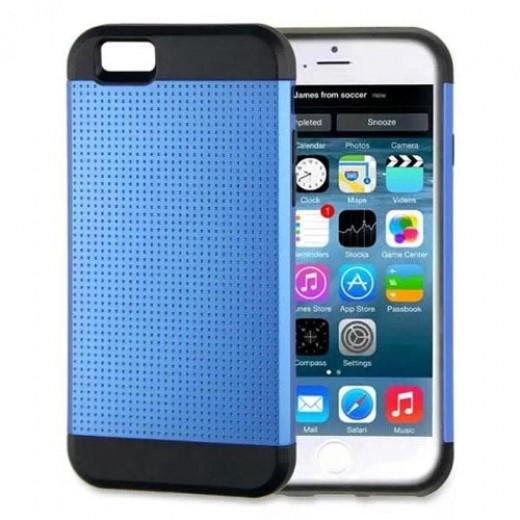Σκληρή Θήκη Apple iPhone 6 Combo Armour Σκούρο Μπλε - Μαύρο