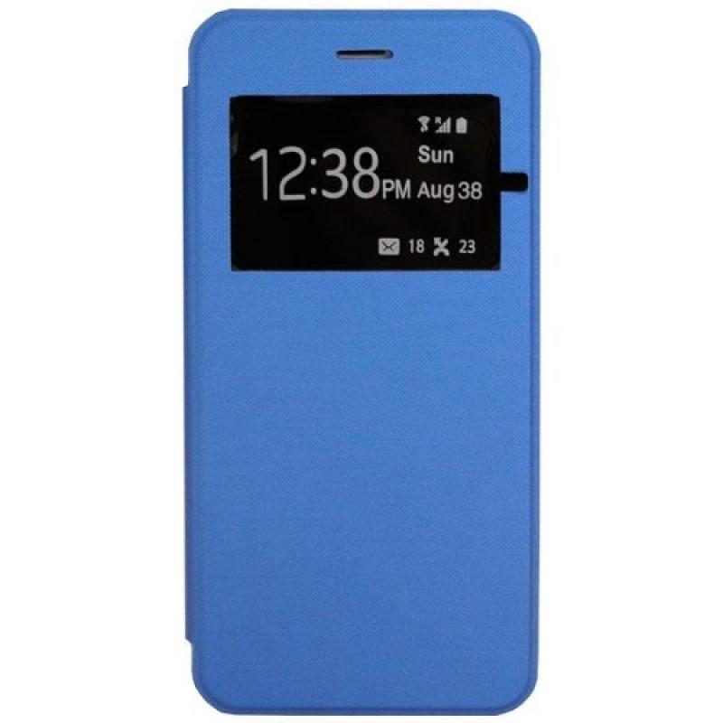 Θήκη Flip S-View Trans Apple iPhone 6 Plus Γαλάζιο