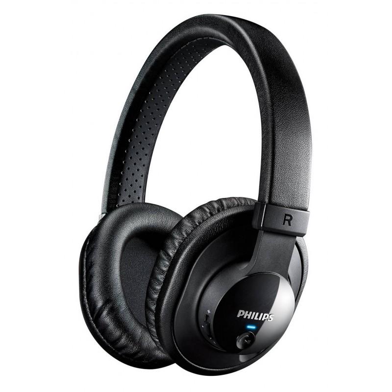 Philips SHB7150 NFC Bluetooth Ακουστικά Stereo Μαύρα με Μικρόφωνο