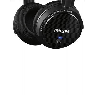 Philips SHB5500BK/00 Bluetooth Ακουστικά Stereo Μαύρα με Μικρόφωνο