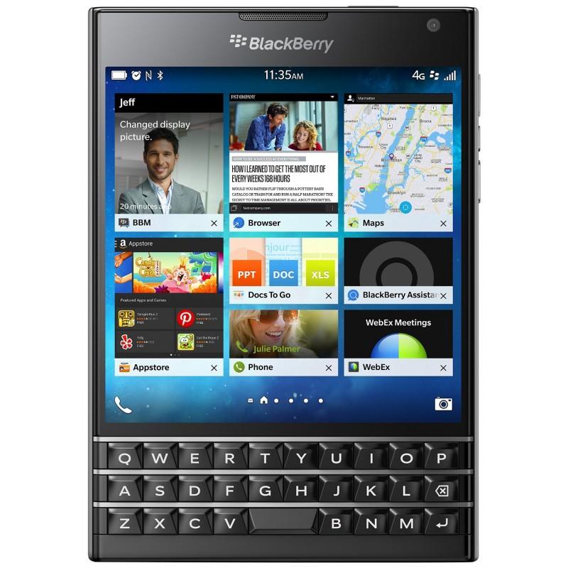 Blackberry Passport QWERTZ Μαύρο