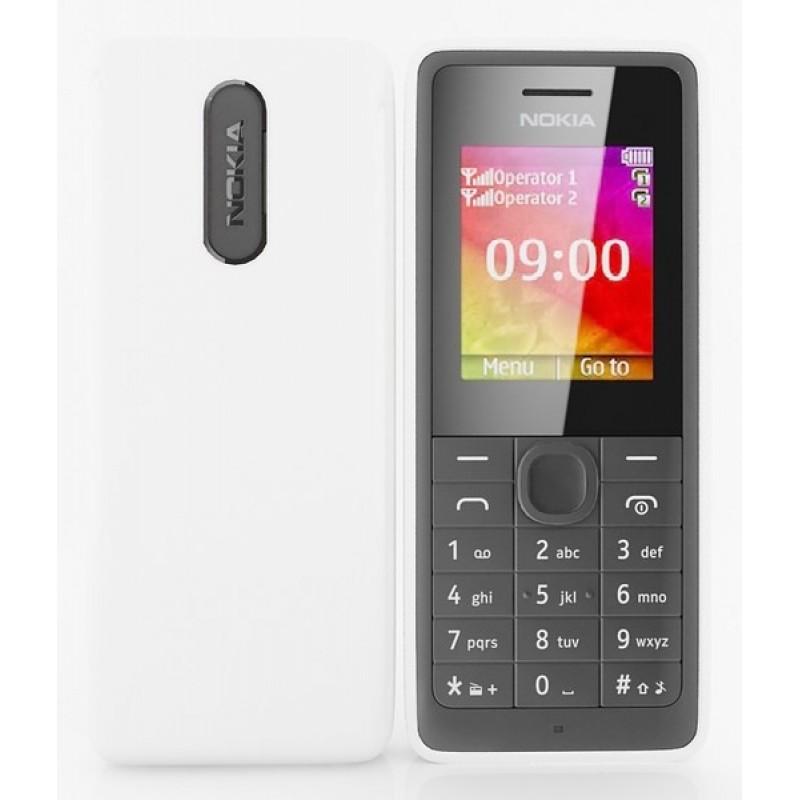 Nokia 107 DUAL Ασπρο EU